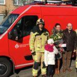Brandweer Westhoek bedankt Carine en Danny