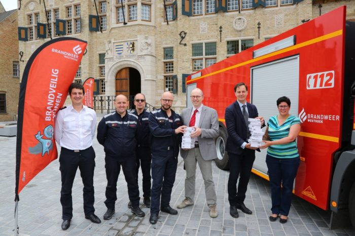 Brandpreventieproject Brandweer Westhoek wint prijs