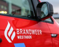 Drie brandweermannen gewond tijdens interventie voor stormschade