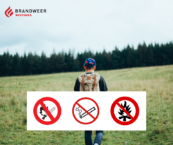 Brandgevaar in de provincie West-Vlaanderen (politiebesluit)